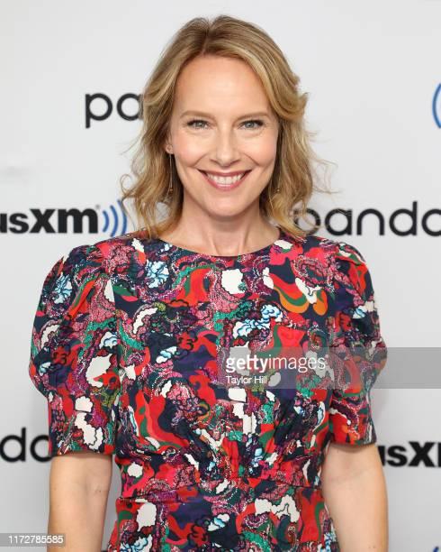 Amy Ryan visits the SiriusXM Studios on September 06 2019 in New York City
