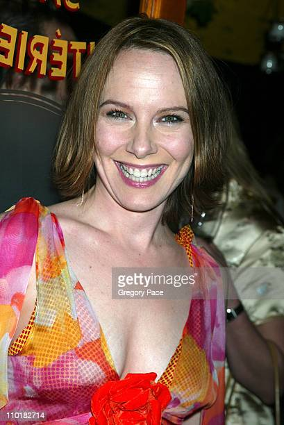 Amy Ryan wearing a blouse designed by Tom Broecker
