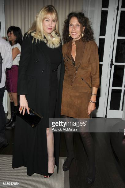 """Amy Sacco and Jacqueline Schnabel attend THE MERCER Hosts Party to Celebrate CARLOS MOTA's New Book """"FLOWERS: Chic & Cheap"""" at The Mercer on May..."""