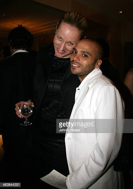 Amy Sacco and Richy Akeba during The Ethnic Foundation Honoring Hosted By Russell Simmons April 25 2006 at Private Home of Antonio LA Reid in New...