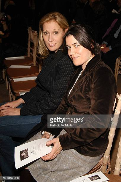 Amy Sacco and Sara Switzer attend Vanity Fair Editor Graydon Carter and Saks Chairman CEO Fred Wilson host a private screening of Eleanor Godmother...