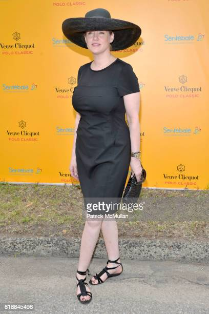 Amy Sacco attends 2010 VEUVE CLICQUOT Polo Classic at Governors Island on June 27 2010 in New York City