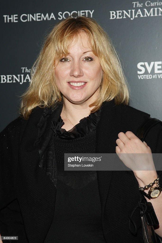 Amy Sacco attends a screening of 'The Curious Case of Benjamin Button' presented by The Cinema Society, Pamella Roland & Svedka at the Tribeca Grand Screening Room on December 11, 2008 in New York City.
