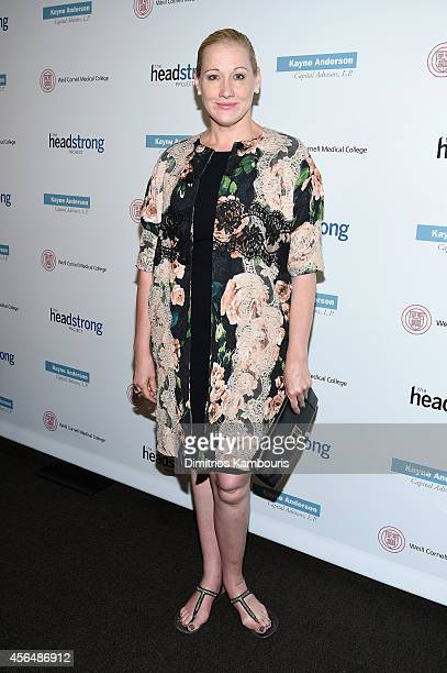 Amy Sacco attends The Headstrong Project 'Words Of War' Benefit at Tribeca 360 on October 1 2014 in New York City