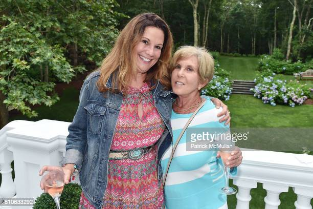 Amy Schaeffer and Riki Kane Larimer attend Katrina and Don Peebles Host NY Mission Society Summer Cocktails at Private Residence on July 7 2017 in...