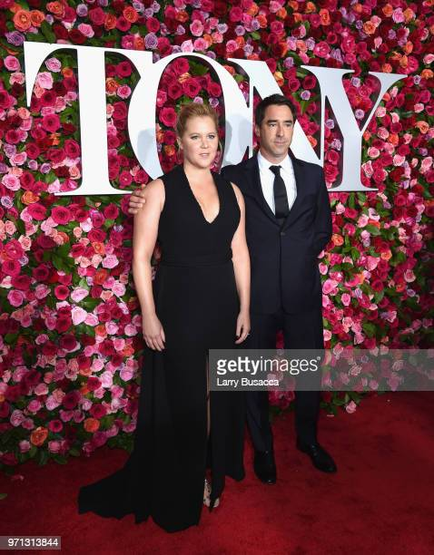 Amy Schumer and Chris Fischer attend the 72nd Annual Tony Awards at Radio City Music Hall on June 10 2018 in New York City