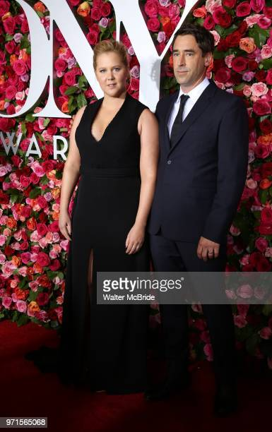 Amy Schumer and Chris Fischer attend the 72nd Annual Tony Awards on June 10 2018 at Radio City Music Hall in New York City