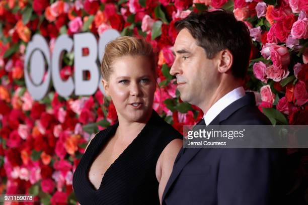 Amy Schumer and Chris Fischer attends the 72nd Annual Tony Awards at Radio City Music Hall on June 10 2018 in New York City