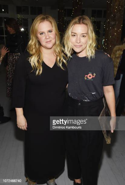 Amy Schumer and Piper Perabo attend Amy Schumer Leesa Evans Host Le Cloud Launch Event With Saks OFF 5TH on December 12 2018 in New York City