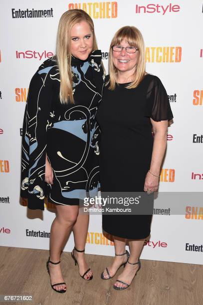 Amy Schumer and Sandra Schumer attend the 'Snatched' New York Premiere at the Whitby Hotel on May 2 2017 in New York City