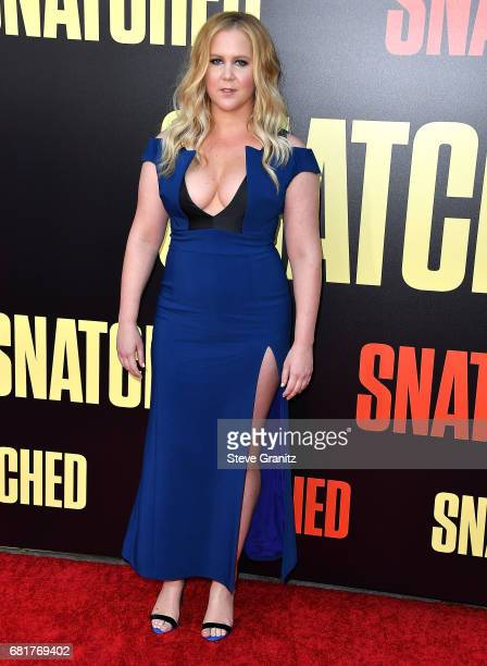 Amy Schumer arrives at the Premiere Of 20th Century Fox's 'Snatched' at Regency Village Theatre on May 10 2017 in Westwood California