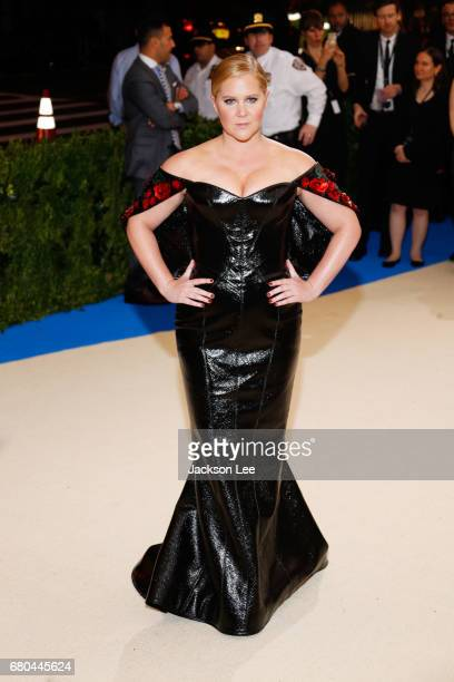 Amy Schumer at 'Rei Kawakubo/Comme des GarçonsArt of the InBetween' Costume Institute Gala at Metropolitan Museum of Art on May 1 2017 in New York...