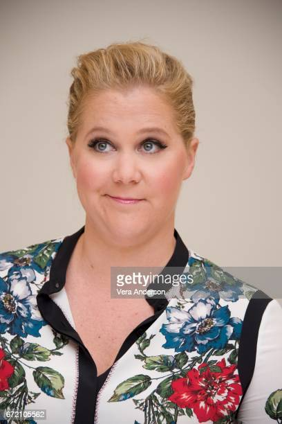 Amy Schumer at the Snatched Press Conference at the Fairmont Hotel on April 22 2017 in Santa Monica California
