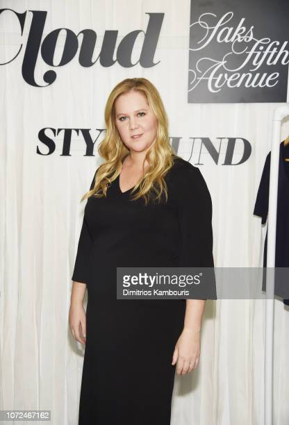 Amy Schumer attends Amy Schumer Leesa Evans Host Le Cloud Launch Event With Saks OFF 5TH on December 12 2018 in New York City