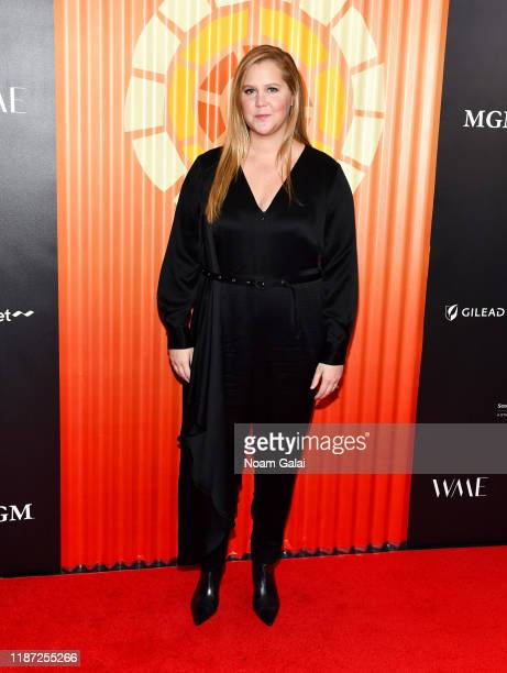 Amy Schumer attends Charlize Theron's Africa Outreach Project Fundraiser at The Africa Center on November 12 2019 in New York City