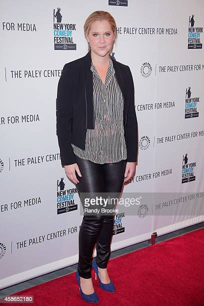 Amy Schumer attends 'Clown Panties And Other Unpleasant Truths An Evening With Inside Amy Schumer' Panel Discussion at Paley Center For Media on...