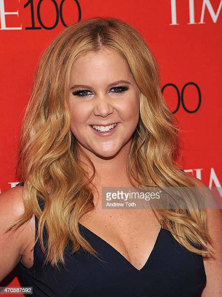 Amy Schumer attends the 2015 Time 100 Gala at Frederick P Rose Hall Jazz at Lincoln Center on April 21 2015 in New York City