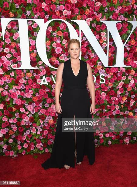 Amy Schumer attends the 72nd Annual Tony Awards at Radio City Music Hall on June 10 2018 in New York City