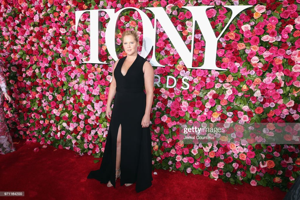 Amy Schumer attends the 72nd Annual Tony Awards at Radio City Music Hall on June 10, 2018 in New York City.