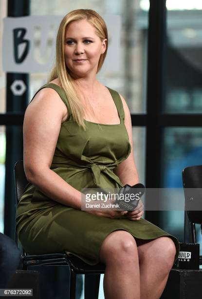 Amy Schumer attends the Build Series to discuss the film 'Snatched' at Build Studio on May 2 2017 in New York City