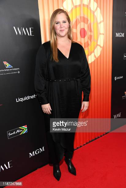 Amy Schumer attends The Charlize Theron Africa Outreach Project fundraising event at The Africa Center on November 12 2019 in New York City