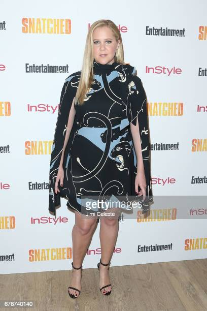 Amy Schumer attends the New York premiere of 'Snatched' at the Whitby Hotel on May 2 2017 in New York City