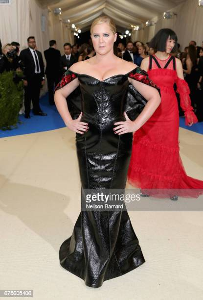 Amy Schumer attends the 'Rei Kawakubo/Comme des Garcons Art Of The InBetween' Costume Institute Gala at Metropolitan Museum of Art on May 1 2017 in...