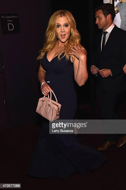 Amy Schumer attends TIME 100 Gala TIME's 100 Most Influential People In The World on April 21 2015 in New York City