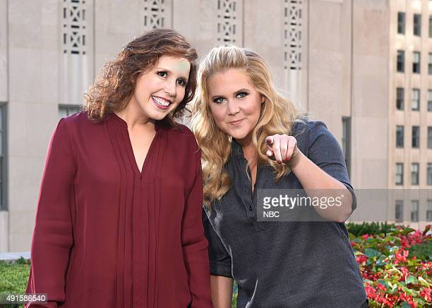 LIVE Amy Schumer Episode 1685 Pictured Vanessa Bayer Amy Schumer on October 6 2015