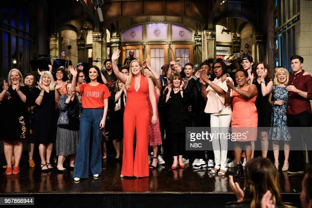 LIVE Amy Schumer Episode 1745 Pictured Aidy Bryant Melissa Villaseñor Kyle Mooney Musical Guest Kacey Musgraves Host Amy Schumer Mikey Day Chris Redd...