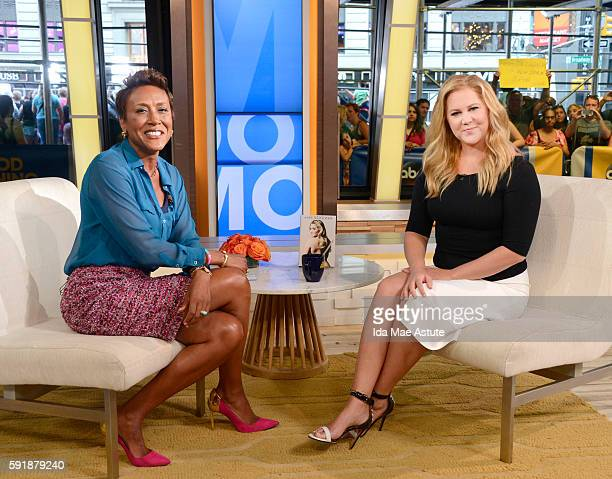 AMERICA Amy Schumer is a guest on 'Good Morning America' 8/15/16 airing on the ABC Television Network ROBIN