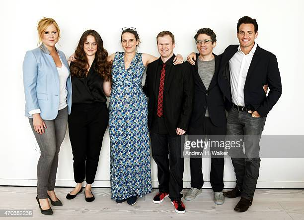 Amy Schumer Kim Caramele Jessi Klein Daniel Powell Ryan McFaul and Kevin Kane attend Tribeca Talks After the Movie Inside Amy Schumer during the 2015...