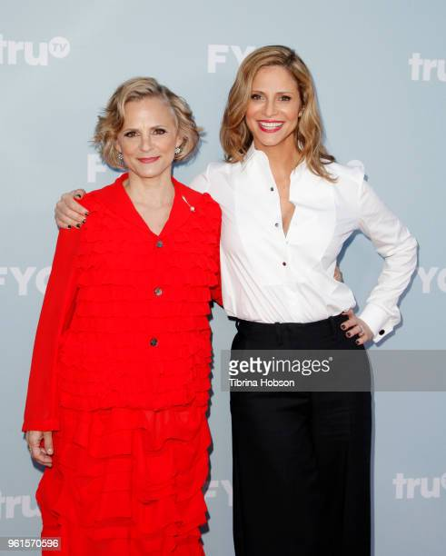 Amy Sedaris and Andrea Savage attend truTV's offical FYC event for 'At Home With Amy Sedaris' and Andrea Savage's 'I'm Sorry' at NeueHouse Hollywood...