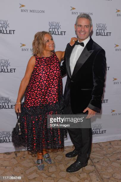 Amy Sedaris and Andy Cohen attend the 8th Annual New York City Ballet Fall Fashion Gala at David H Koch Theater Lincoln Center