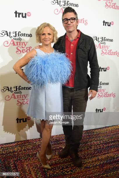 "Amy Sedaris and Cocreator and Executive Producer Paul Dinello attends the premiere screening and party for truTV's new comedy series ""At Home with..."