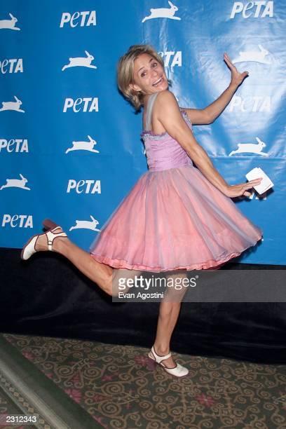 Amy Sedaris at PETA's 21st Anniversary Party and Humanitarian Awards at the WaldorfAstoria Hotel in New York City 9/8/2001 Photo Evan Agostini/Getty...