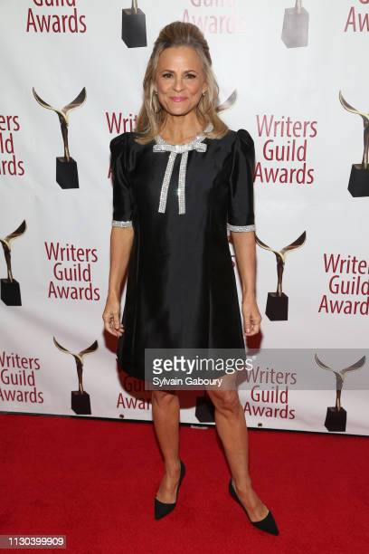 Amy Sedaris attends 71st Annual Writers Guild Awards New York Ceremony at Edison Ballroom on February 17 2019 in New York City