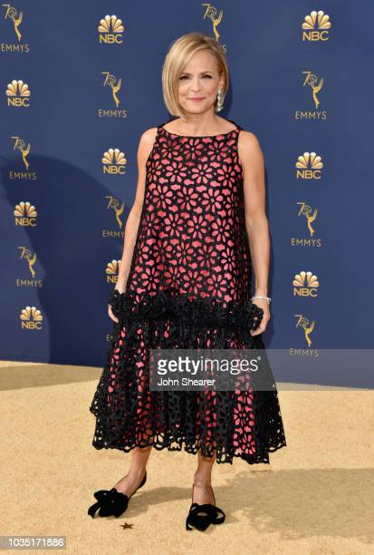 Amy Sedaris attends the 70th Emmy Awards at Microsoft Theater on September 17 2018 in Los Angeles California