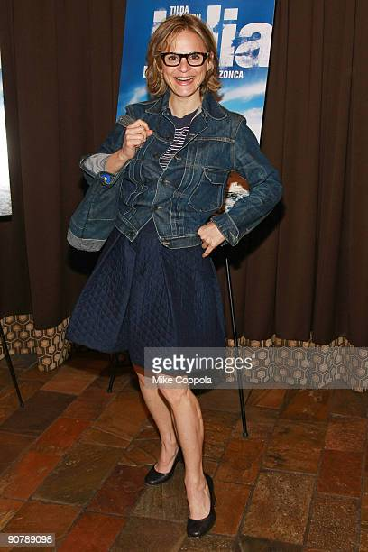 Amy Sedaris attends the premiere of 'Julia' at the Tribeca Grand Hotel on April 30 2009 in New York City