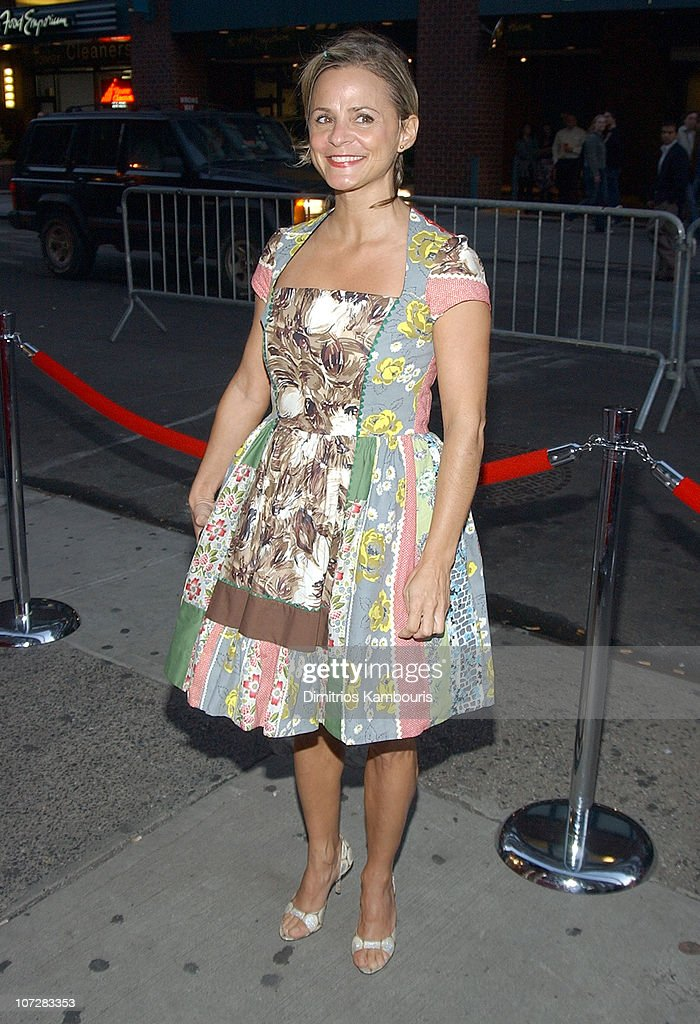 Amy Sedaris during 1st Annual LAByrinth Theater Company Celebrity Charades Benefit presented by Gotham and LA Confidential Magazine at Daryl Roth Theater in New York City, New York, United States.