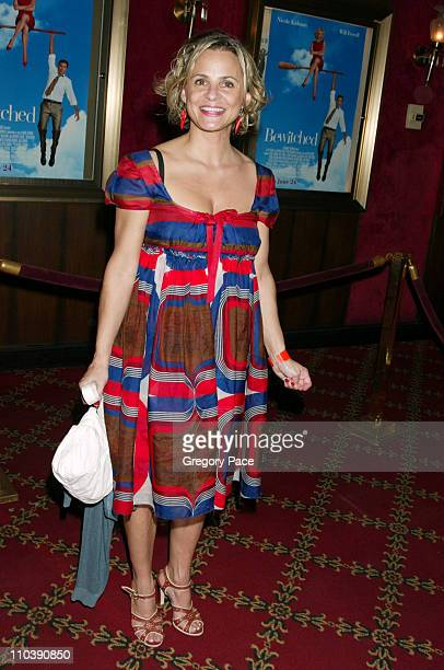 Amy Sedaris during Bewitched New York City Premiere Inside Arrivals at Ziegfeld Theater in New York City New York United States