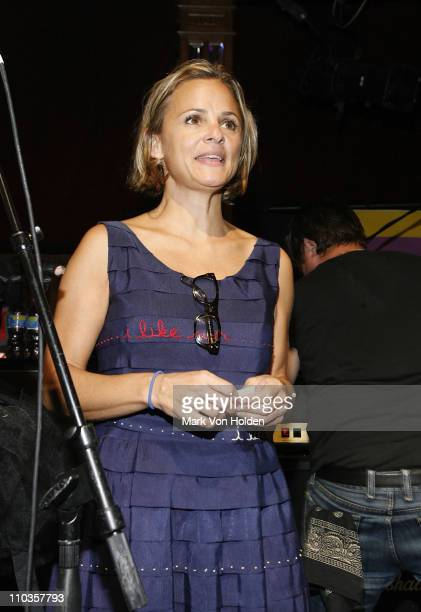 Amy Sedaris host the Bust Magazine's 15th Anniversary celebration at the South Street Seaport on August 12 2008 in New York City