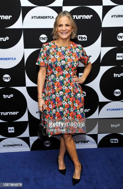 Amy Sedaris of the television show 'At Home with Amy Sedaris' poses in the green room during the TCA Turner Winter Press Tour 2019 at The Langham...