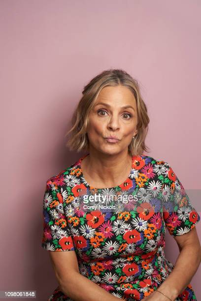 Amy Sedaris of TruTV's At Home with Amy Sedaris poses for a portrait during the 2019 Winter TCA at The Langham Huntington Pasadena on February 11...