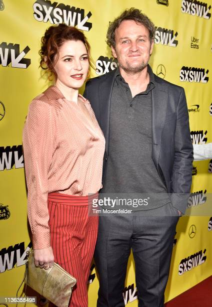 Amy Seimetz and Jason Clarke attend the premiere of 'Pet Sematary' during the 2019 SXSW Conference and Festival at the Paramount Theatre on March 16...