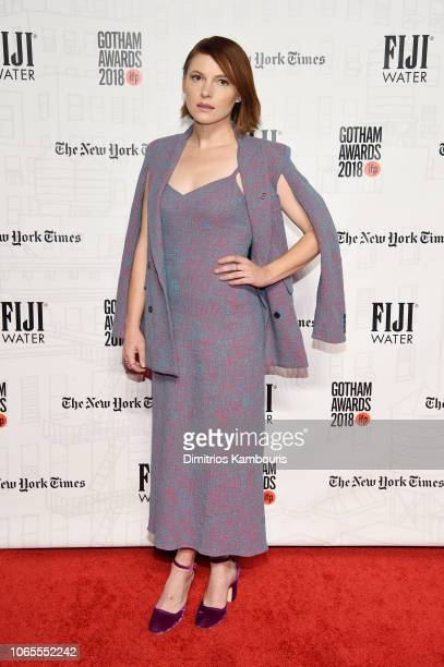 Amy Seimetz attends IFP's 28th Annual Gotham Independent Film Awards at Cipriani Wall Street on November 26 2018 in New York City