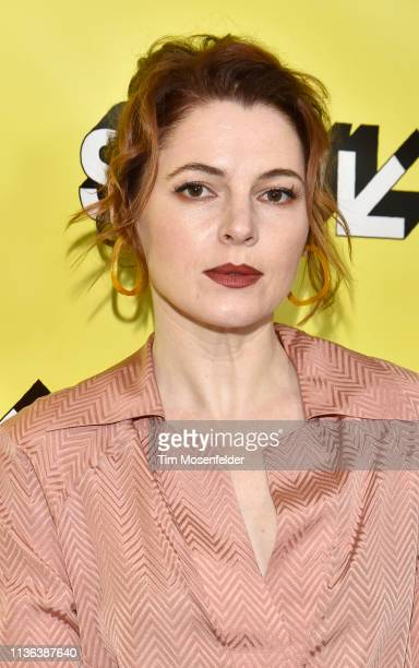 Amy Seimetz attends the premiere of 'Pet Sematary' during the 2019 SXSW Conference and Festival at the Paramount Theatre on March 16 2019 in Austin...