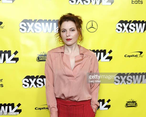 Amy Seimetz attends the world premiere of 'Pet Sematary' at the Paramount Theatre during the 2019 SXSW Conference And Festival on March 16 2019 in...