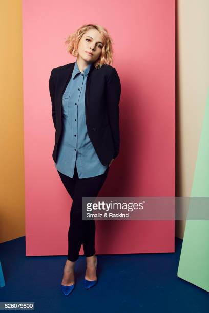 Amy Seimetz of Starz's 'The Girlfriend Experience' poses for a portrait during the 2017 Summer Television Critics Association Press Tour at The...