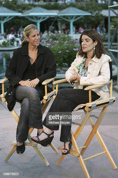 Amy Sewell and Marilyn Agrelo during 2005 Los Angeles Film Festival Mad Hot Ballroom Screening at California Plaza in Los Angeles California United...